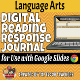 Digital Reading Response Journal for Use with Google Slides