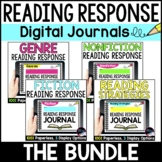 Digital Reading Response Journals, Reading Comprehension D