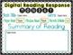 Digital Reading Response Logs for Google Drive