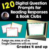 Digital Reading Response and Book Club Discussion Slides