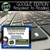 Digital Reading Responses for Any Fiction Text  GOOGLE EDITION