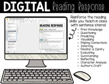 Digital Reading Response for Google