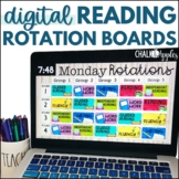 Reading Center Rotation Boards with Timers (Digital Rotation Slides)