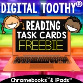 Digital Reading Toothy ®  Freebie  | Fact & Opinion | Dist