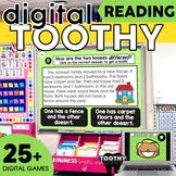 2nd Grade Digital Reading Comprehension Toothy ® Task Cards Bundle