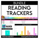 Digital Reading Trackers Bundle