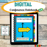 Digital Reading and Writing Conference Notebook for PDF an