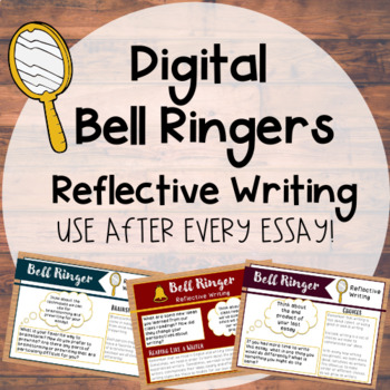 Digital Reflective Writing Bell Ringers