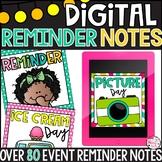 Digital Reminder Notes