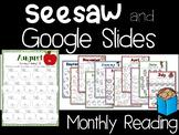 Seesaw Preloaded and Google Slides Digital Remote Learning
