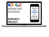 Digital Research Project: Cell Phones in Schools!  PAPERLESS