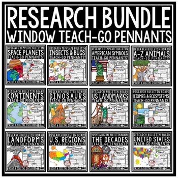 Digital Research Projects- Paperless Activities for Google Classroom Activities