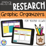 Digital Research Skills Graphic Organizers for Google Slides