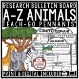 Digital Resource Animals Research -  for Google Classroom