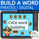 Digital Resource | CVCe WORD BUILDING | For Google Slides™