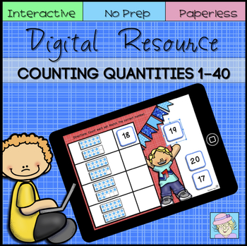 Digital Resource: Counting Numbers 1-40