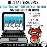 Digital Resource Counting by 10s Off the Decade to 100 - Distance Learning