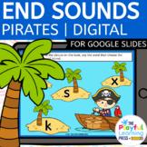 Digital Resource | ENDING SOUNDS | For Google Slides™ l PIRATES