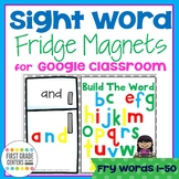 Digital Resource Sight Words with Movable Letters Fry Words 1-50