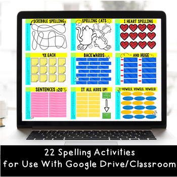 Digital Resource GROWING Bundle to Use with Google Classroom: Grades 2-5