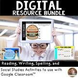Digital Resource Bundle to Use with Google Classroom: Grades 2-5