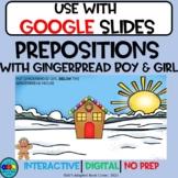 Digital Resource. Gingerbread Prepositions. Positional Words. Winter.