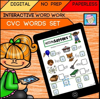 Digital CVC Words Set