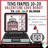 Digital Resource Love Robot Tens Frames 10-20 - Distance Learning