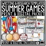 Winter Sports Digital Resource Winter Games Activities for Google Slides ™
