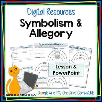Symbolism And Allegory Digital Resource By Nouvelle Ela Tpt
