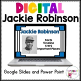 Distance Learning Jackie Robinson Google Slides and PowerPoint