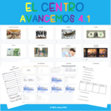 Digital Resource on Google Slides - Avancemos 1 4.1 - En e