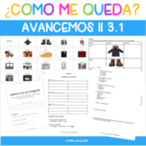 Digital Resource on Google Slides - Avancemos II 3.1