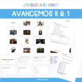 Digital Resource on Google Slides Avancemos II 6.1
