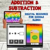 Digital Resource Add & Subtract Google Apps Ready