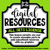 Digital Resources All Sets License {Zip-A-Dee-Doo-Dah Designs}