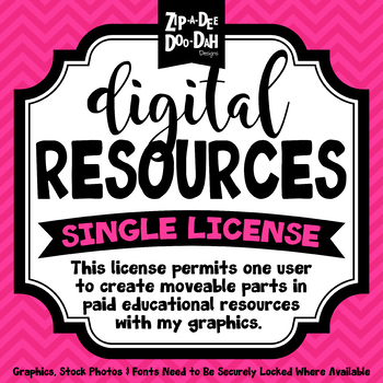 Digital Resources Single Set License {Zip-A-Dee-Doo-Dah Designs}