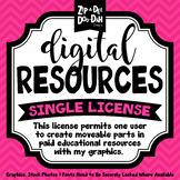 Digital Resources Single Set License {Zip-A-Dee-Doo-Dah Designs}