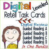 Digital Retell Task Cards App (Guided Reading A, B, C, D)