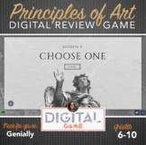 Digital Review Game - Principles of Art Interactive Review Game