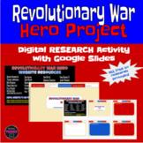 Digital Revolutionary War Hero Project  - Wax Museum option included