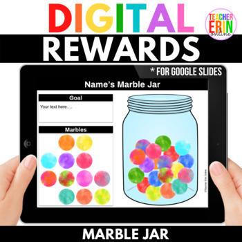 Digital Rewards Marble Jar Student Incentive For Google Slides