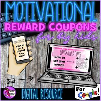 Digital Rewards Coupons for big kids (that are free treats!)