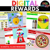 Digital Rewards for Google Slides Student Incentives Class