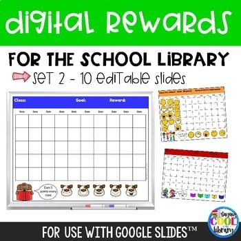 Digital Rewards for the School Library - Set 2