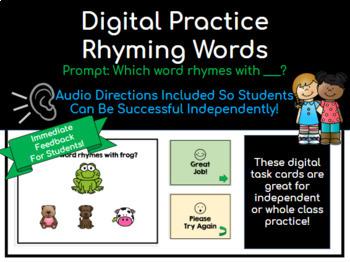 Digital Rhyming Practice