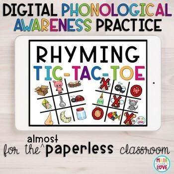 Digital Rhyming Tic-Tac-Toe