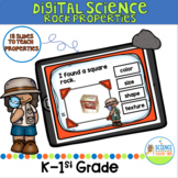 Digital Rock Properties Science Pack for K-1st Grade