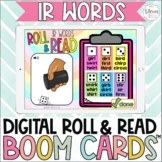 Digital Roll & Read Boom Cards™| R Controlled Vowels | ir words