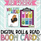 Digital Roll and Read Boom Cards™ | R Controlled Vowels |
